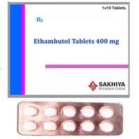 Ethambutol 400mg Tablets