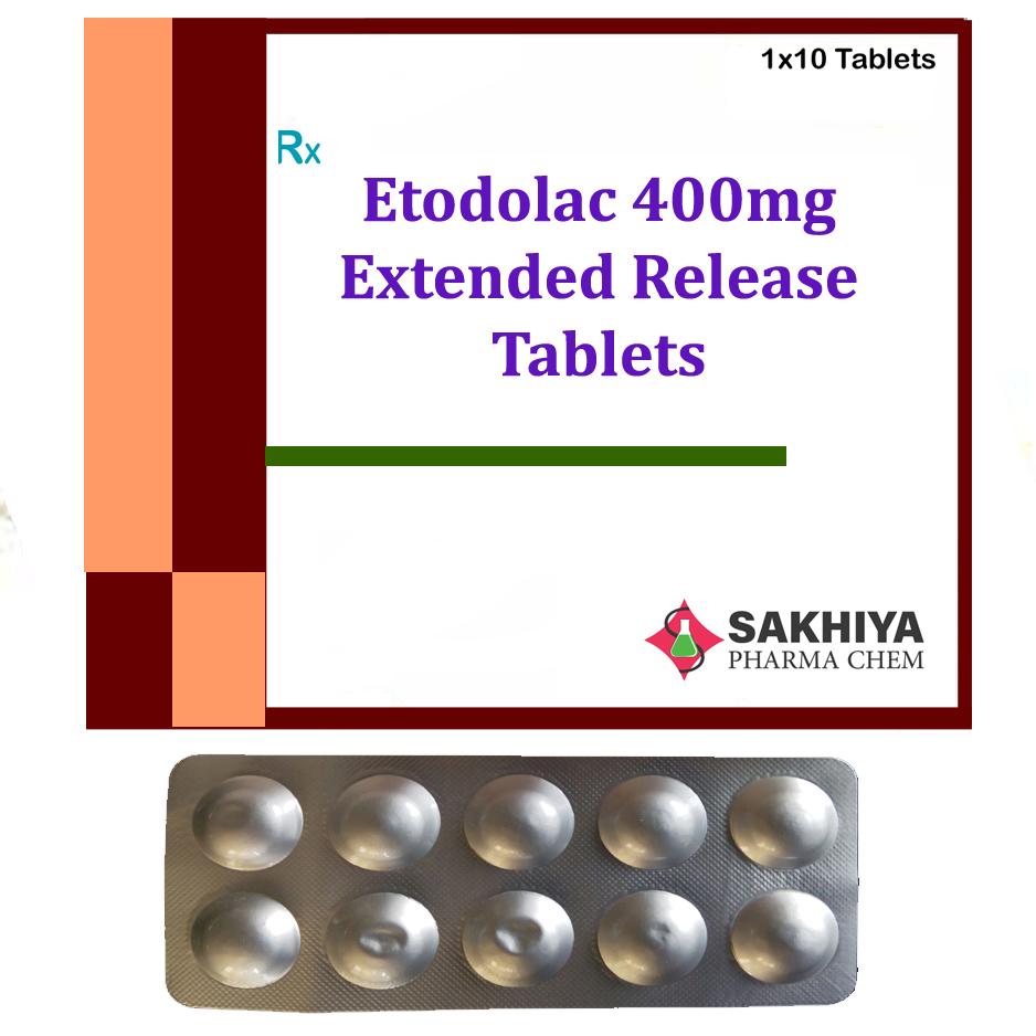 Etodolac 400mg (ER) Tablets