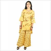 Women Yellow Color Kurti