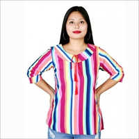 Womens & Girls Mix Colour Crepe Full Top