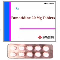 Famotidine 20mg Tablets