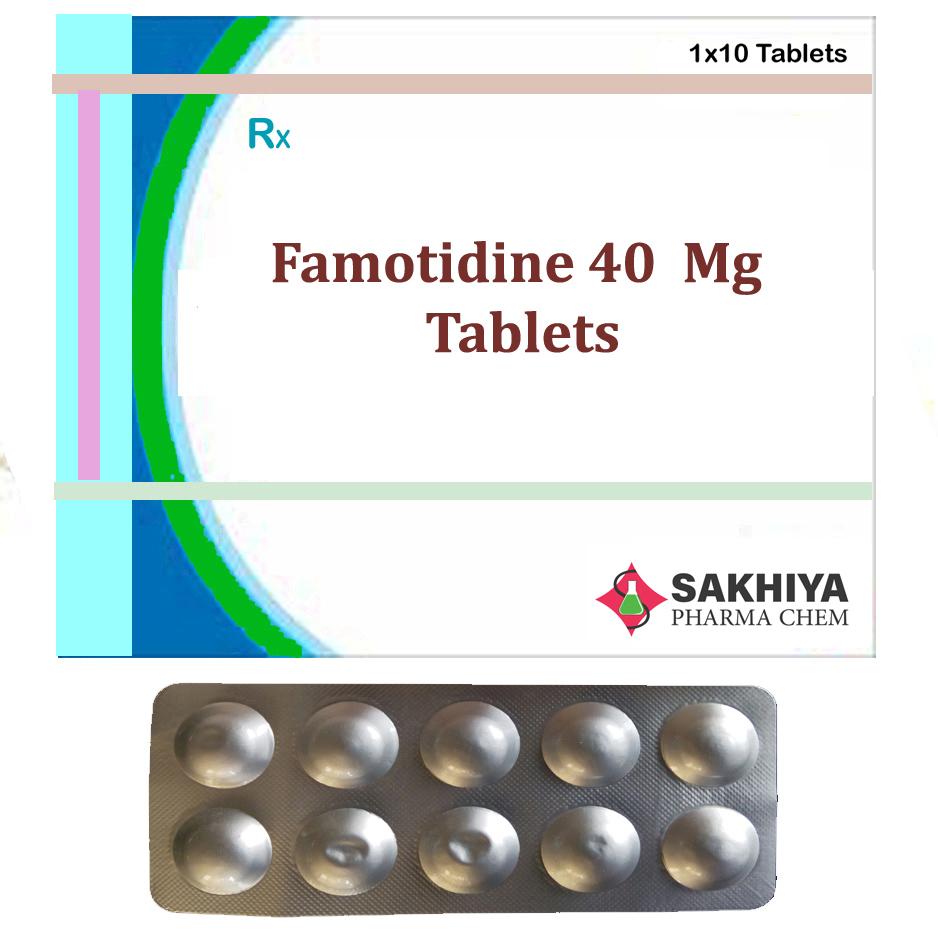 Famotidine 40mg Tablets