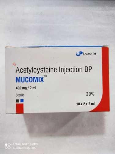 MUCOMIX 400MG/ 2ML