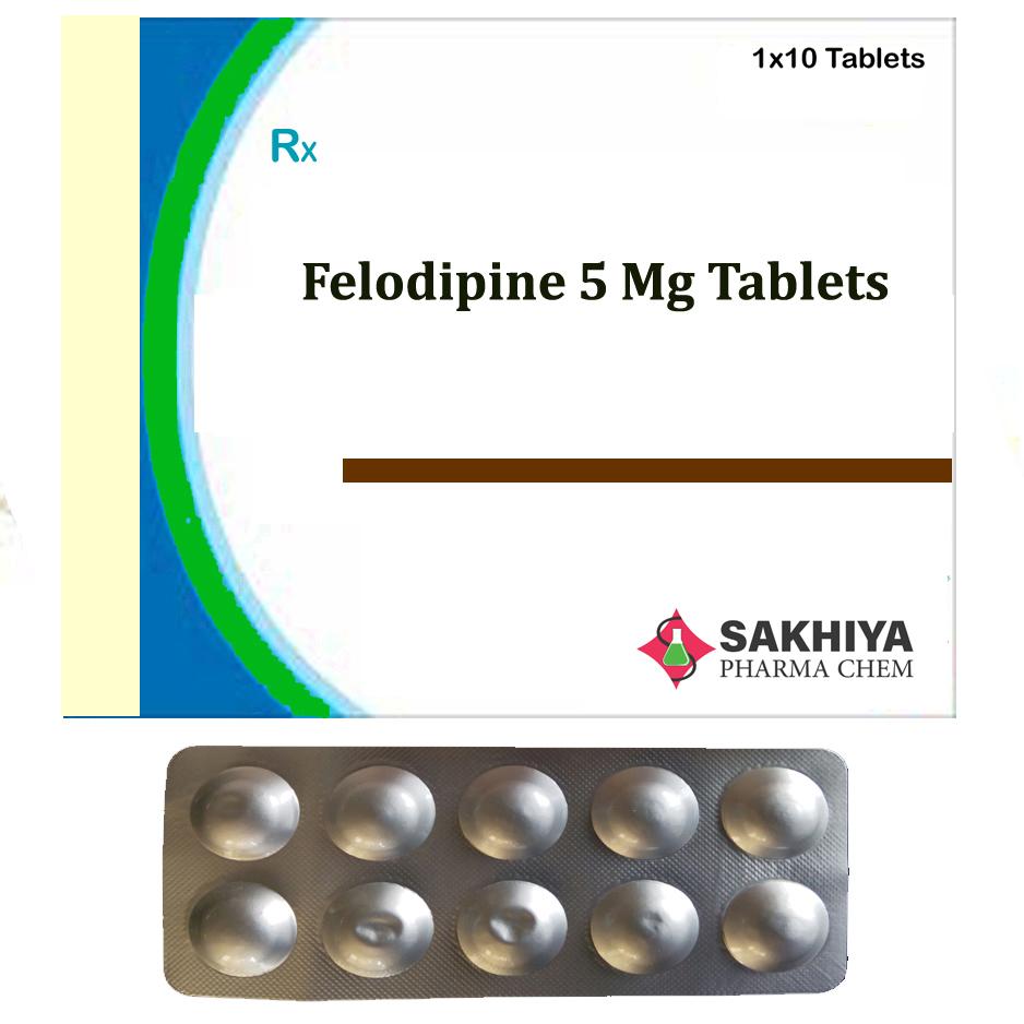 Felodipine 5mg Tablets