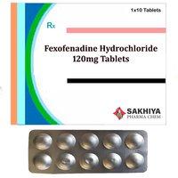 Fexofenadine Hydrochloride 120mg Tablets