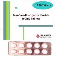 Fexofenadine Hydrochloride 180mg Tablets