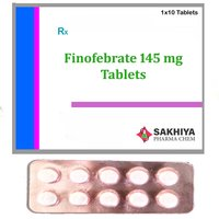 Finofibrate 145 mg Tablets