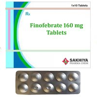 Finofibrate 160 mg Tablets