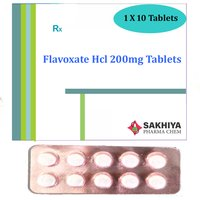 Flavoxate Hcl 200mg Tablets