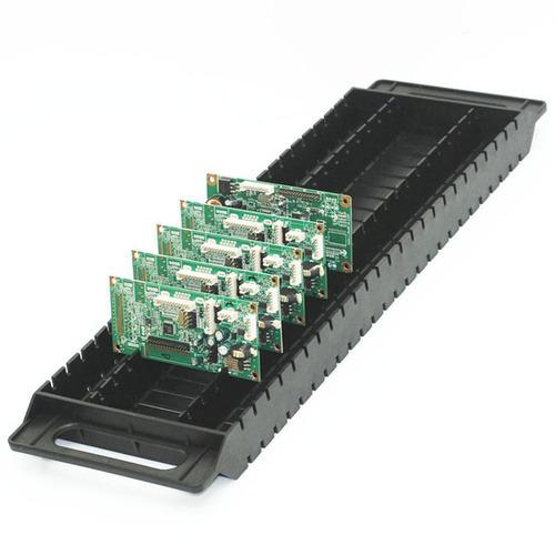 Black I Type ESD PCB Tray