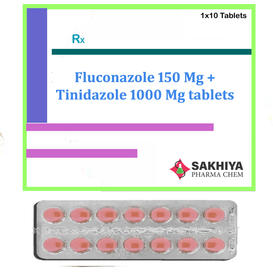 Fluconazole 150mg + Tinidazole 1000mg Tablets