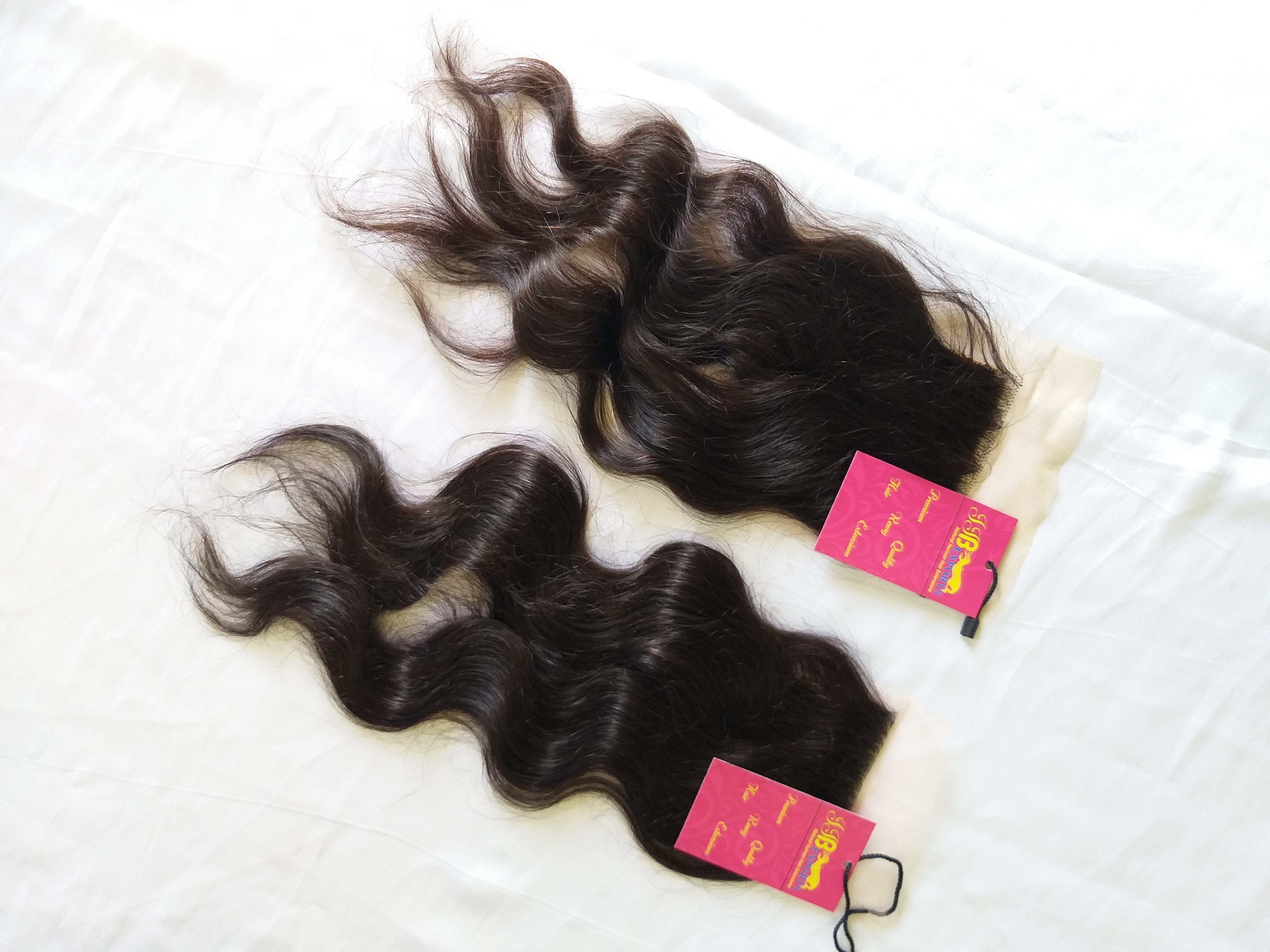 Wholesale Factory Price Transparent Cuticle Aligned 4x4 Lace Closure Frontal Human Hair