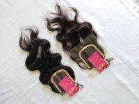 Natural Raw Unprocessed Virgin 4x4 5x5 6x6 Hd Swiss Lace Closure Human Hair