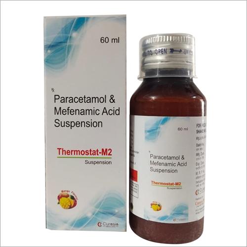 60 ml Paracetamol and Mefenamic Acid  Suspension