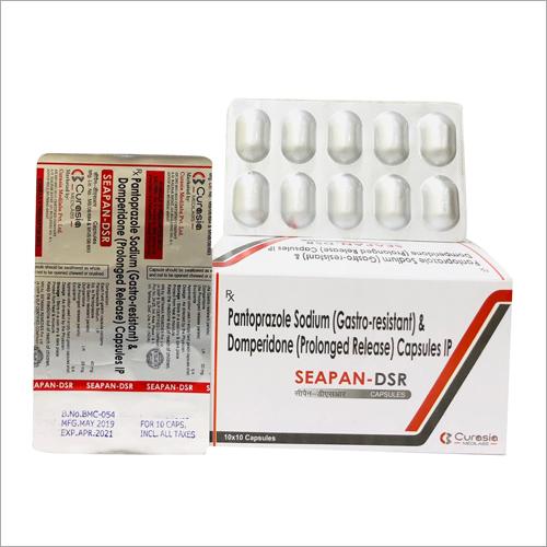 Pantoprazole Sodium(Gastro Resistant) and Domperidone(Prolonged Release) Capsules