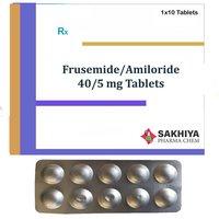 Furosemide 40mg + Amiloride 5mg Tablets