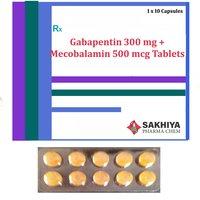 Gabapentin 300mg + Mecobalamin 500mcg Tablets