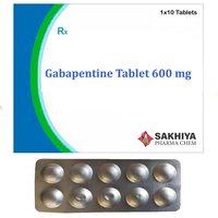 Gabapentine 600 Mg Tablets