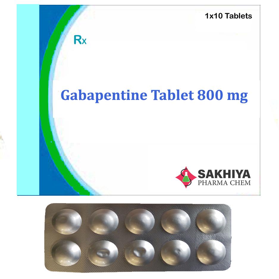 Gabapentine 800 mg Tablets
