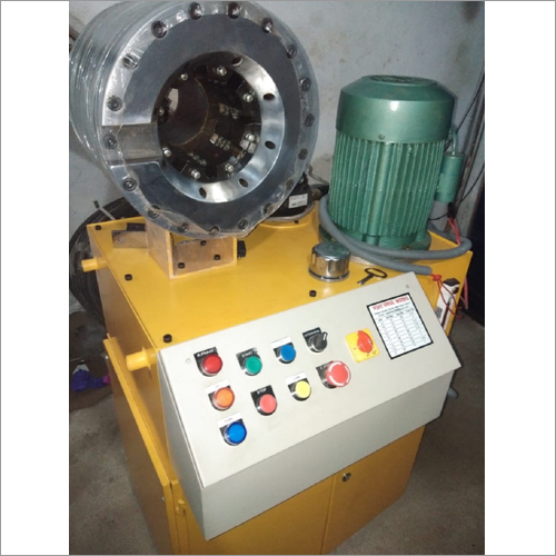 Semi Automatic Hydraulic Hose Pipe Crimping Machine
