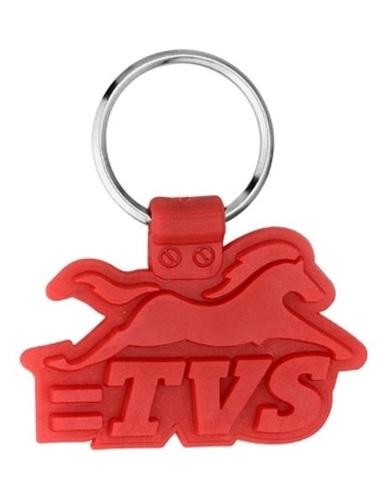 Red Tvs Keychain