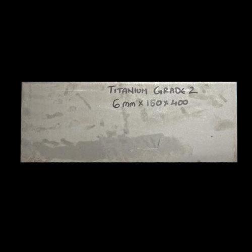 Titanium Grade 2 Flat Bar