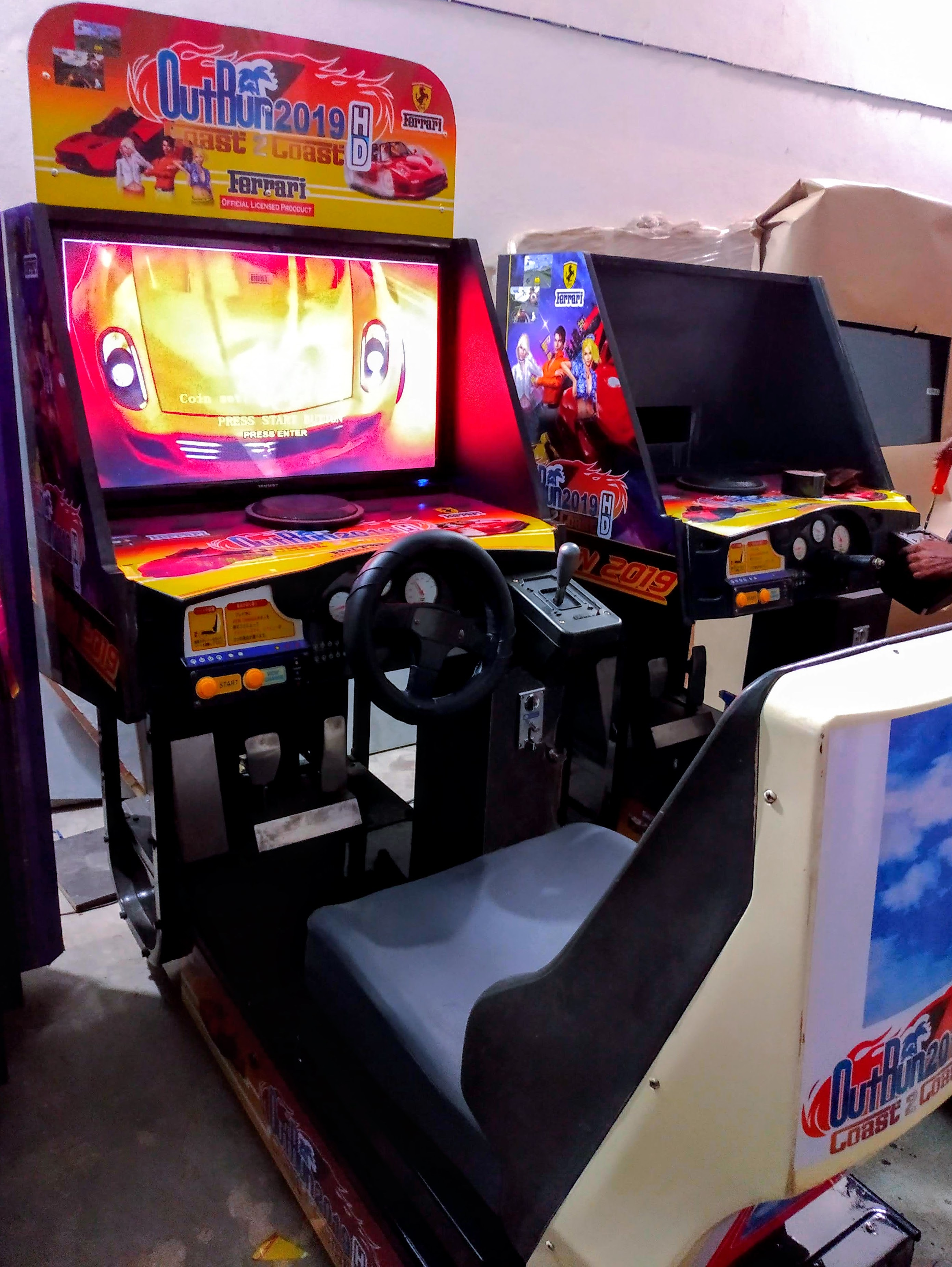 Car Racing Game On Rent