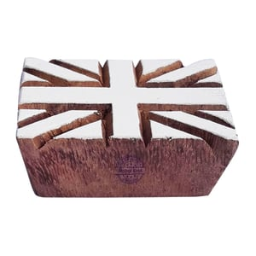 UK Flag  Wooden Block Printing Stamps
