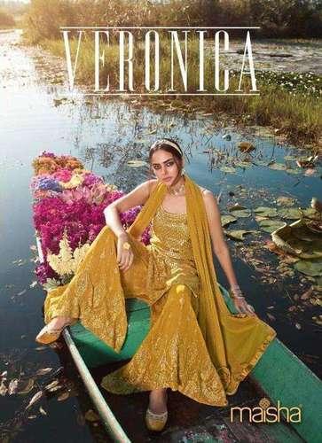 Maisha Veronica Georgette Designer Salwar Suit Catalog