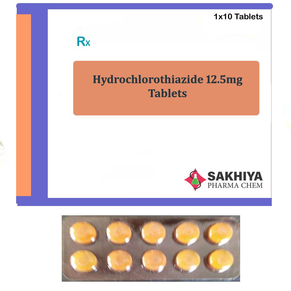 Hydrochlorothiazide 12.5mg Tablets