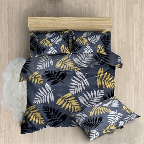 Leaf Print Bed Sheets