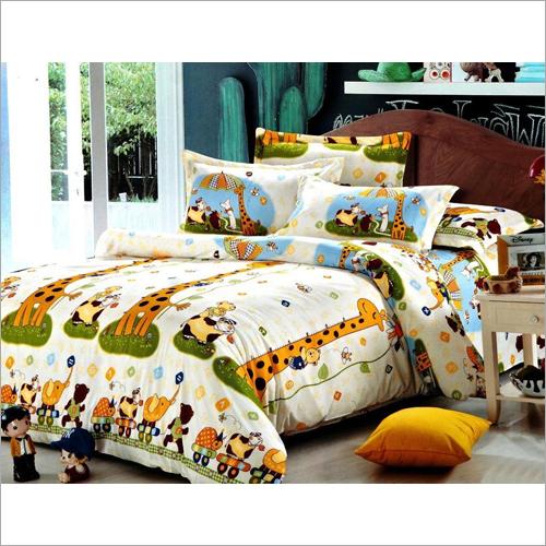 Cartoon Print Comforter Set