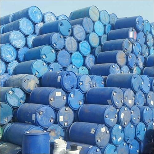 Reused Clear Plastic Barrels