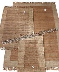 Handmade Natural Hemp Rugs for Home Floor decoration