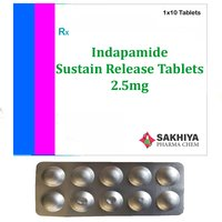 Indapamide 2.5mg Sustain Release Tablets