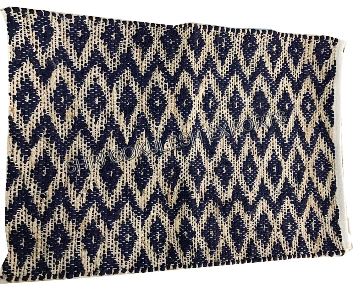 Indian Designer Natural Fibre Jute Hemp rugs For Living Room Floor decoration carpets