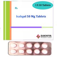 Isabgol 50mg Tablets
