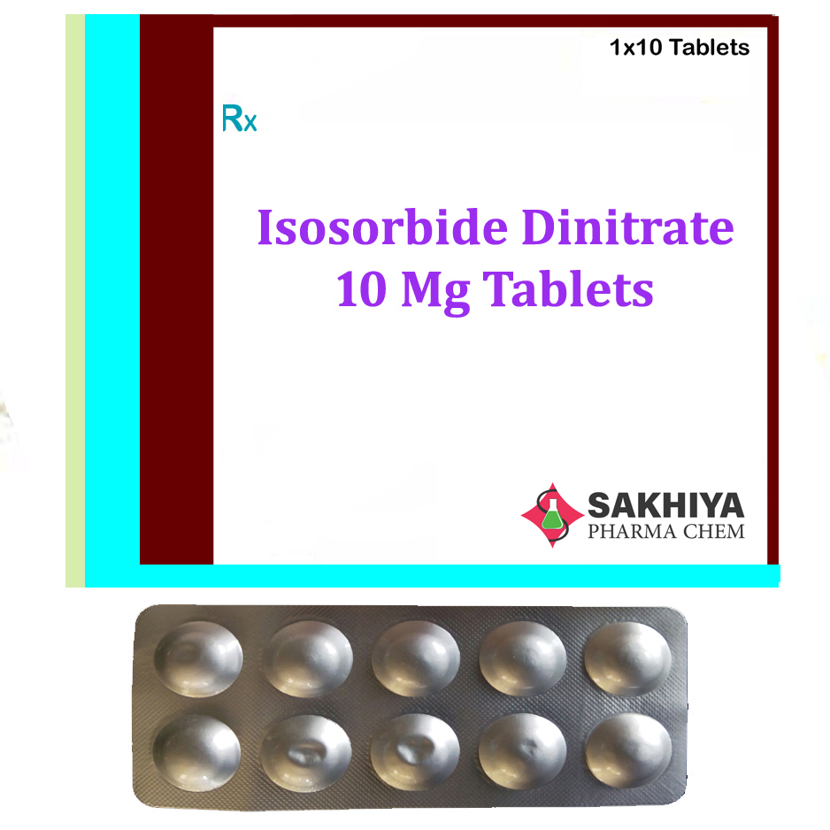 Isosorbide Dinitrate 10mg Tablets