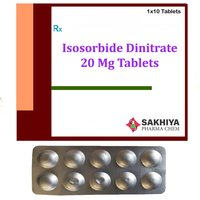 Isosorbide Dinitrate 20mg Tablets