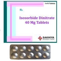 Isosorbide Dinitrate 40mg Tablets