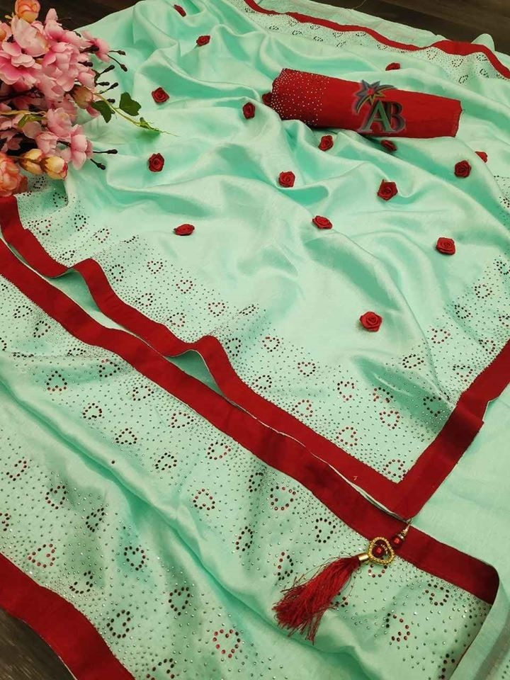 Zoya silk saree