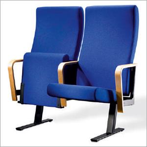 Blue Audtorium Chair