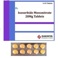 Isosorbide Mononitrate 20mg Tablets