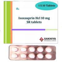 Isoxsuprine Hcl 10mg SR Tablets