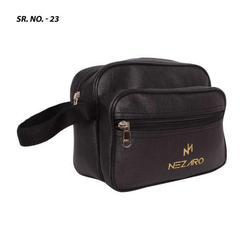 Promotional leather pouch