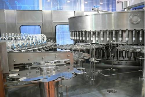 Mineral Water Filling Application: Beverage