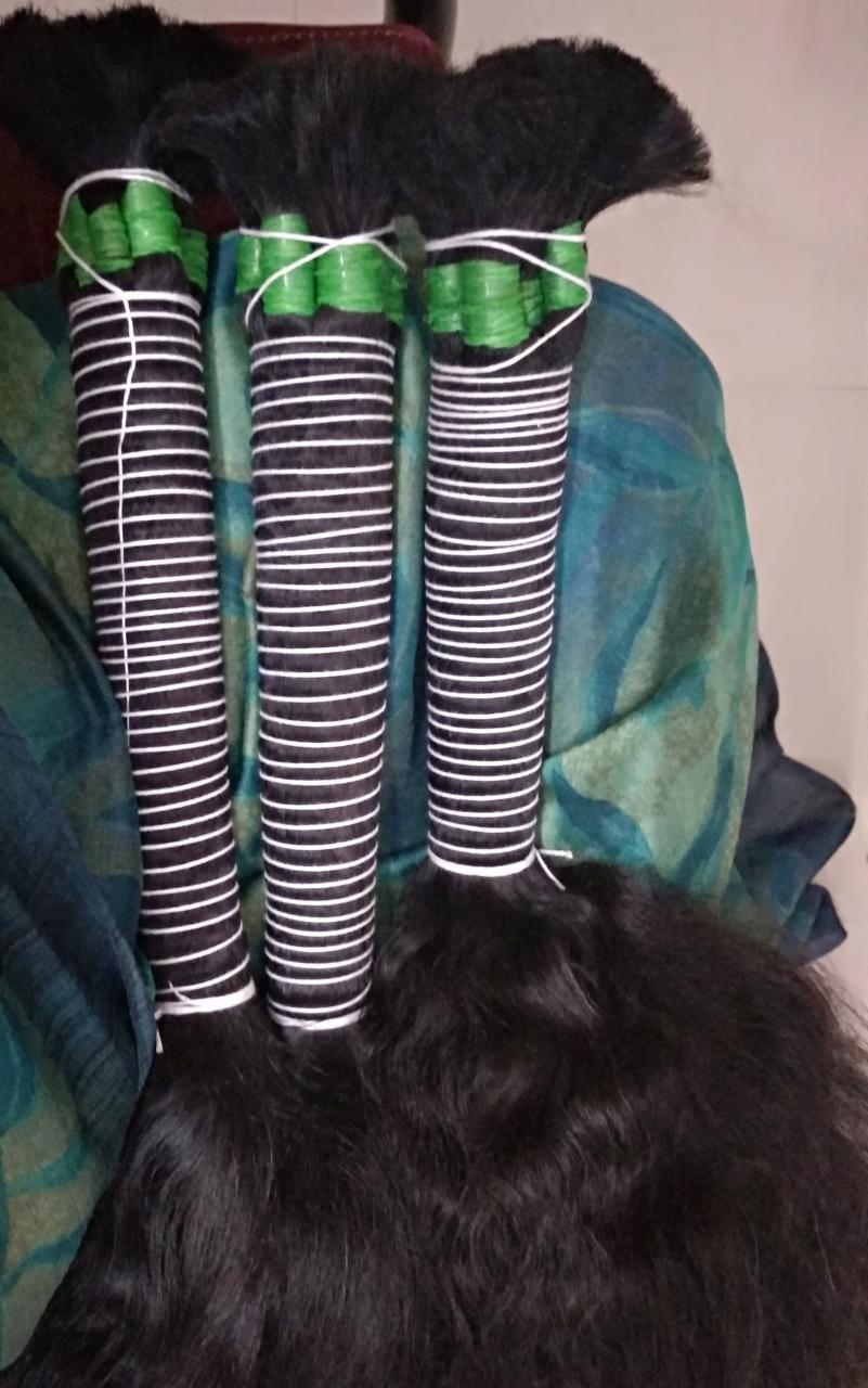 Indian Remy Single Drawn Human Hair