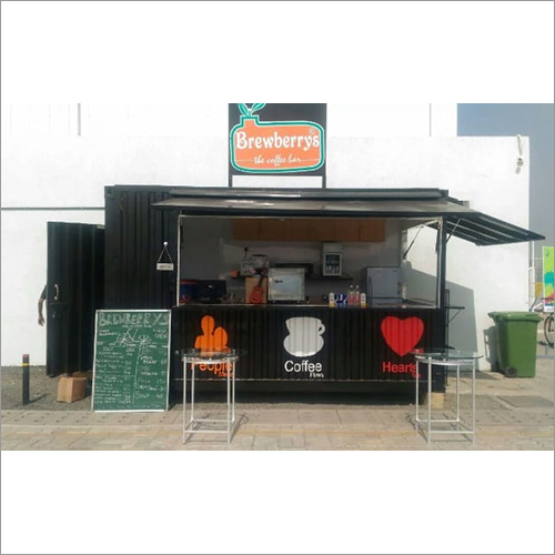 Portable Coffee Shop Cabin