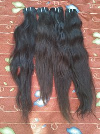 Indian Virgin Wavy Human Hair Extensions