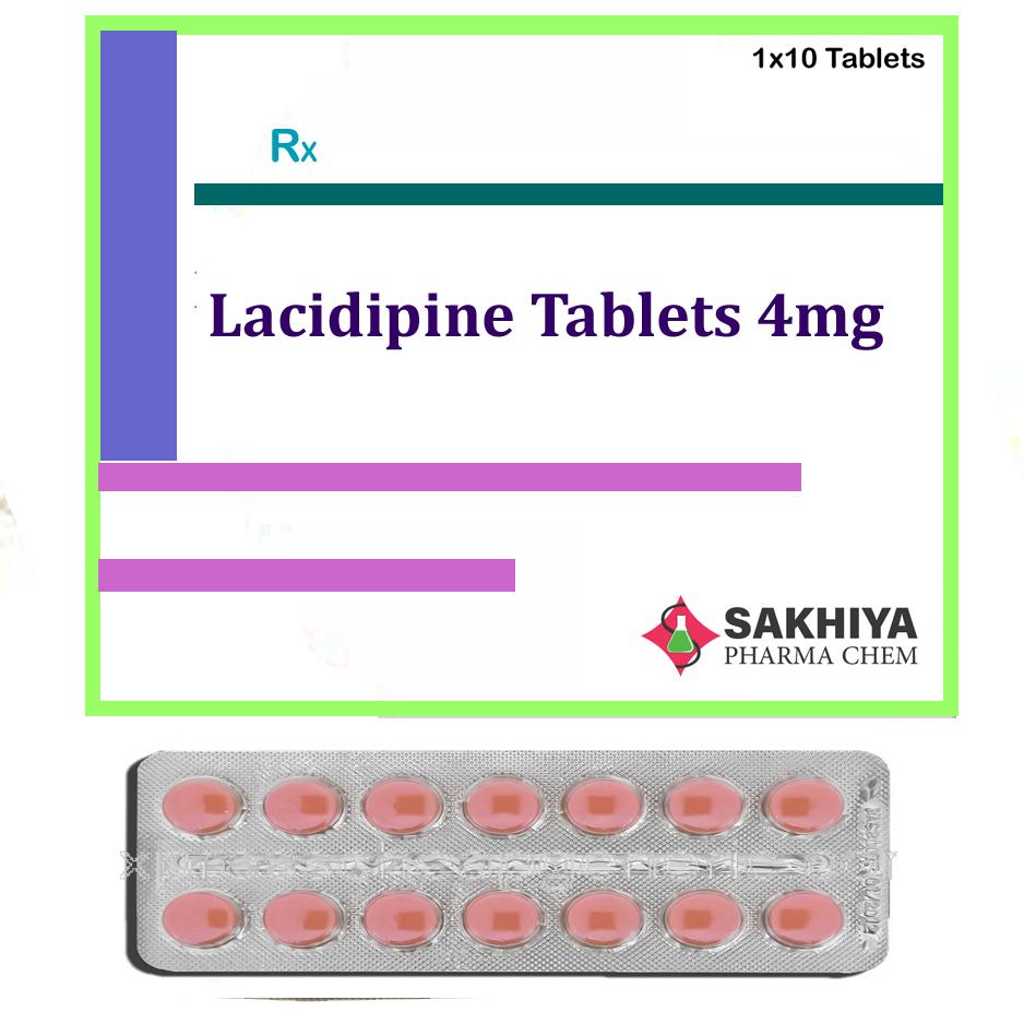 Lacidipine 4mg Tabets